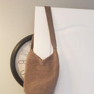 NWT tan crochet Sak shoulder bag